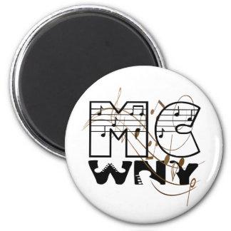 Imán del logotipo de MCWNY