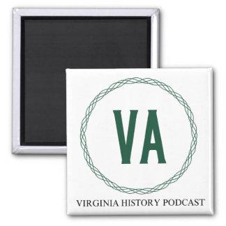 Imán del logotipo del podcast de la historia de