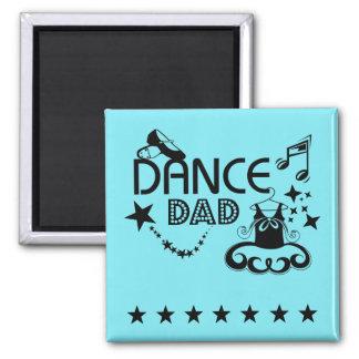 Imán del papá de la danza