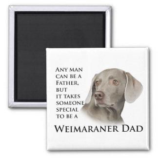 Imán del papá de Weimaraner