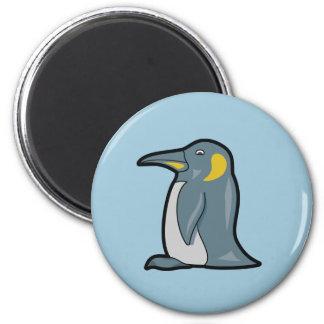 Imán del pingüino del dibujo animado