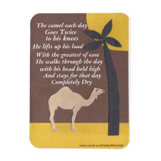 Imán del poema del camello