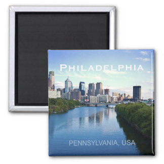 Imán del recuerdo de la foto de Philadelphia Penns