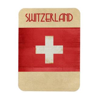 Imán del recuerdo de Suiza