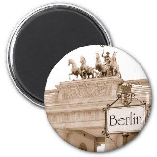 Imán del refrigerador de Berlín del vintage