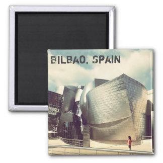 Imán del refrigerador de Bilbao España