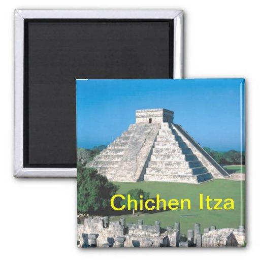 Imán del refrigerador de Chichen Itza