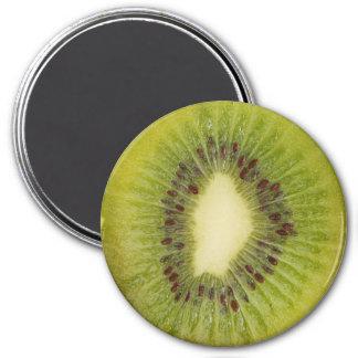 Imán del refrigerador de la fruta de kiwi