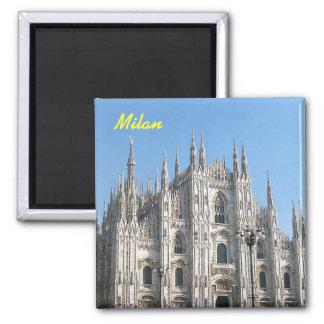 Imán del refrigerador de Milano