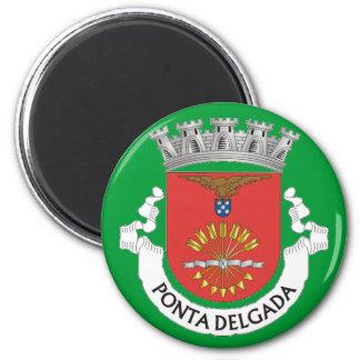 Imán del refrigerador de Ponta Delgada* Azores