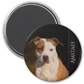 Imán del refrigerador de Staffordshire Terrier