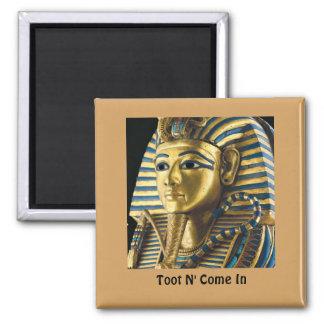 Imán del refrigerador de Tutankhamen