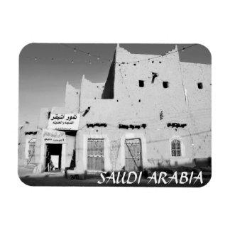 Imán del refrigerador del pueblo de la Arabia