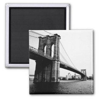 Imán del refrigerador del puente de Brooklyn