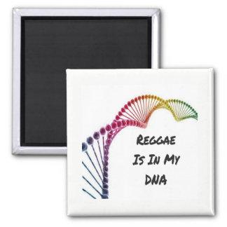 Imán del refrigerador - el reggae está en mi DNA