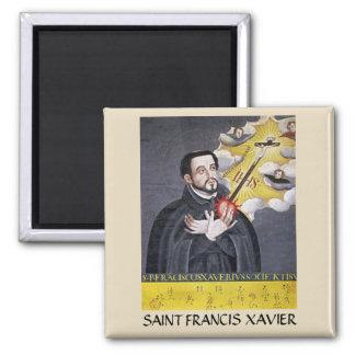 Imán del retrato de San Francisco Javier