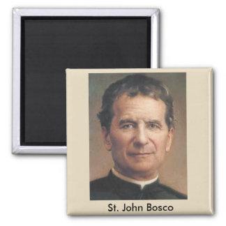 Imán del retrato de San Juan Bosco