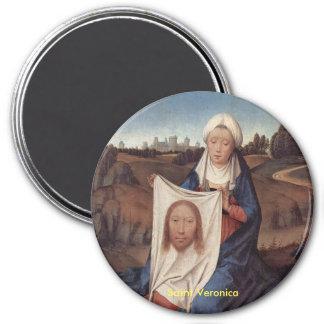 Imán del retrato del Veronica del santo