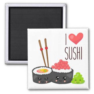 Imán del sushi del amor de Kawaii I