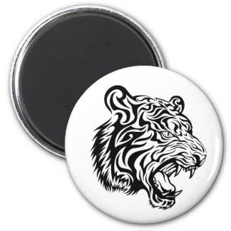 Imán del tatuaje del tigre