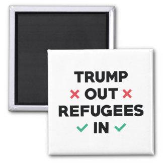Imán Del triunfo refugiados hacia fuera adentro