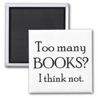 Imán demasiados libros