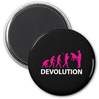 Imán Devolution Evolution Funny Reissue