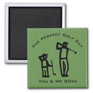 Imán Día perfecto del golf