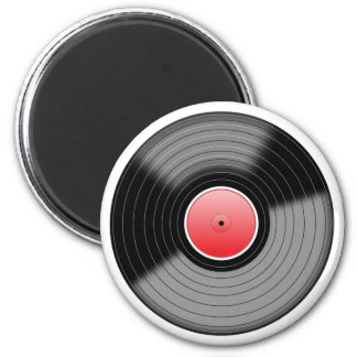 Imán Disco de vinilo L.P. Retro Magnet