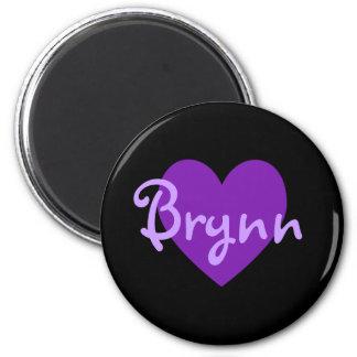 Imán Diseño de Brynn Purple Heart