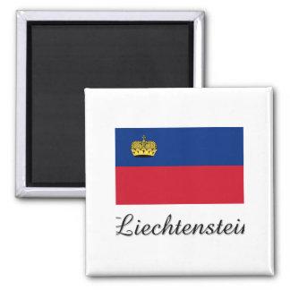 Imán Diseño de la bandera de Liechtenstein