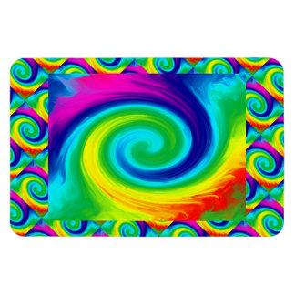 Iman Diseño del arte abstracto del remolino del arco