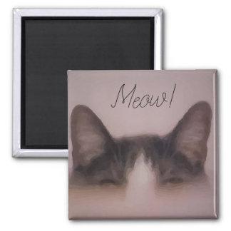 Imán Diseño divertido de los oídos de gato del gatito
