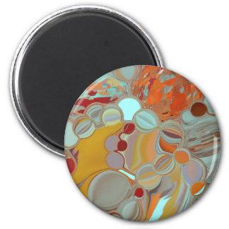 Imán Diseño líquido del extracto de las burbujas