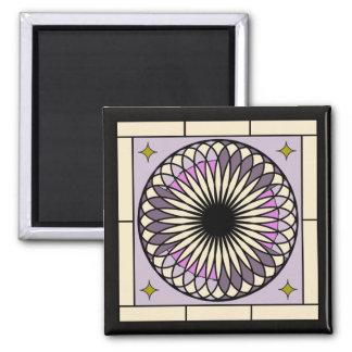 Imán Diseño púrpura espiral de Deco