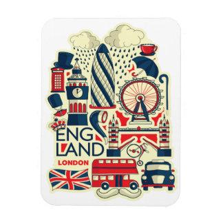 Imán divertido de Inglaterra Londres