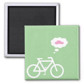 Imán divertido de la bici