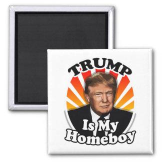 Imán Donald Trump retro es mi Homeboy para el
