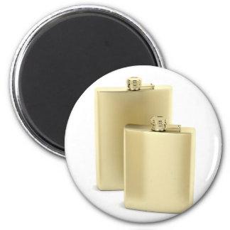 Imán Dos frascos de oro de la cadera