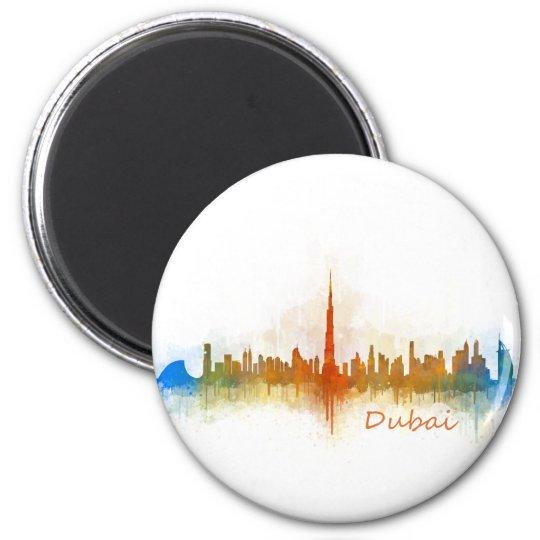 Imán Dubai Skyline Cityscape Emirates v3
