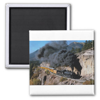 Imán Durango y ferrocarril de Silverton, no. 481, Cree