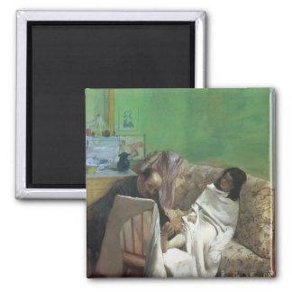 Imán Edgar Degas el | el Pedicure, 1873