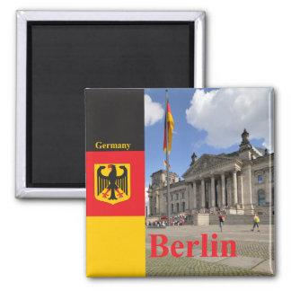 Imán Edificio de Reichstag. Berlín, Alemania
