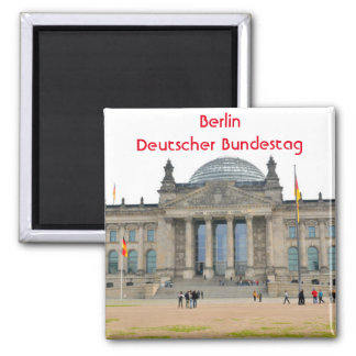 Imán Edificio de Reichstag en Berlín, Alemania