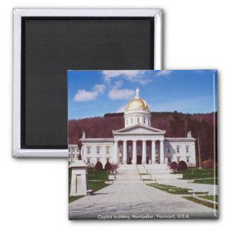 Imán Edificio del capitolio, Montpelier, Vermont, los