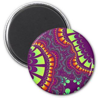 Imán El arco iris con sabor a fruta púrpura remezcla el