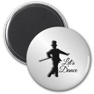 Imán El bailarín de golpecito nos dejó bailar