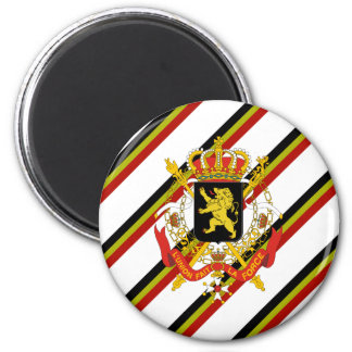 Imán El belga raya la bandera