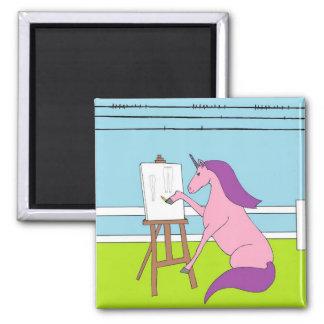 Imán El crear del unicornio