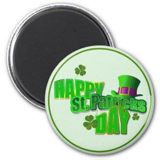 Imán El día de St Patrick feliz